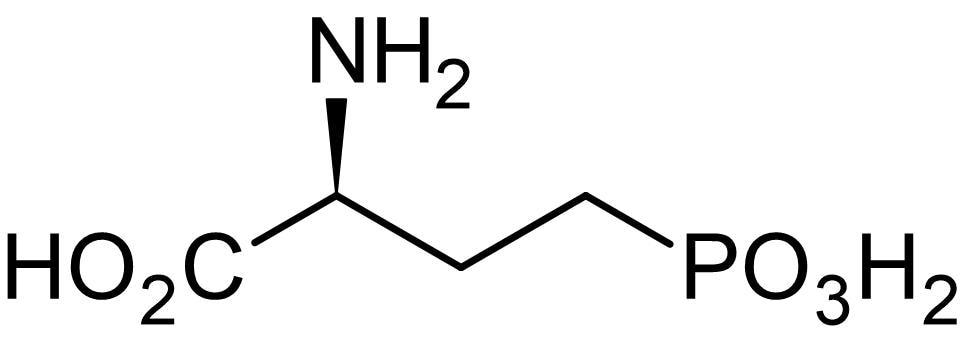Chemical Structure - L-AP4 (mM/ml), group III mGlu agonist (ab144481)