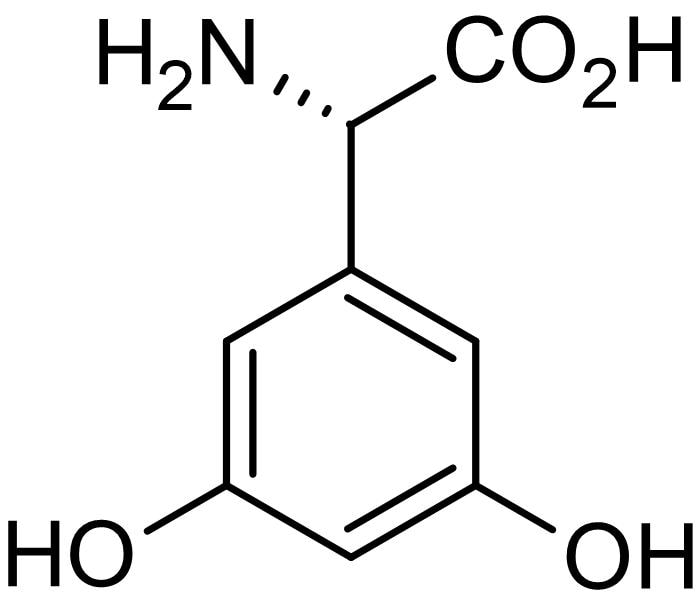 Chemical Structure - (S)-3,5-DHPG (mM/ml), group I mGlu agonist (ab144484)