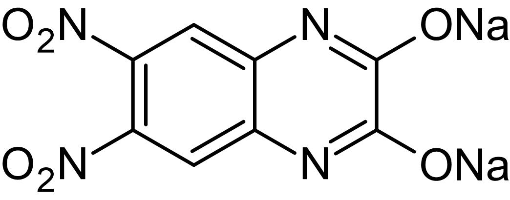 Chemical Structure - DNQX disodium salt (mM/ml), AMPA / kainate antagonist (water soluble) (ab144496)