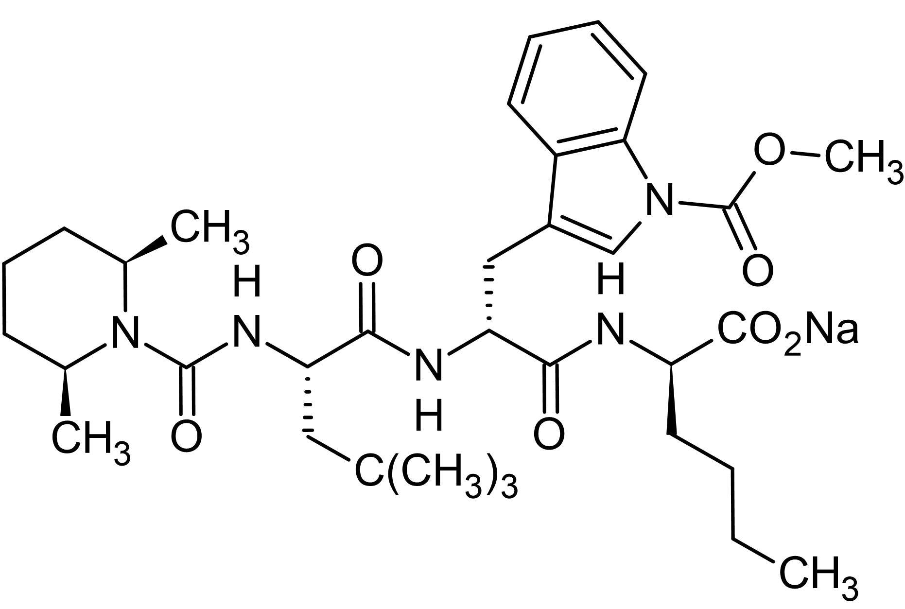 Chemical Structure - BQ 788 sodium salt, ET<sub>B</sub> receptor antagonist (ab144504)