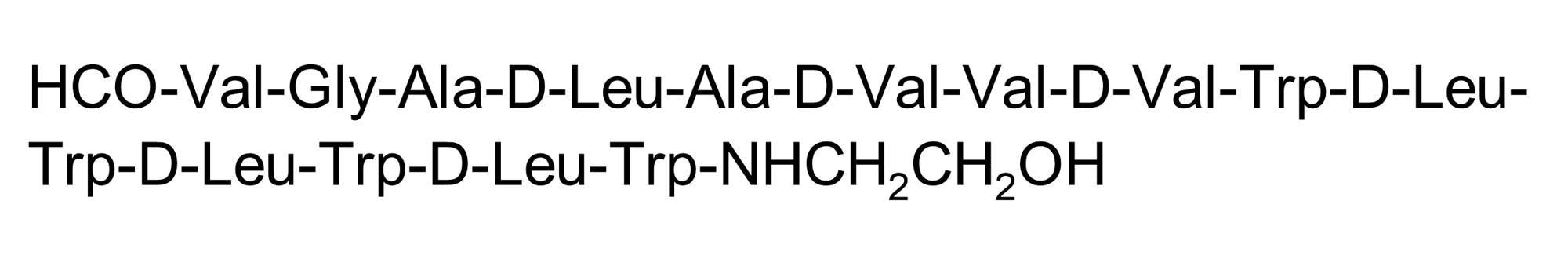 Chemical Structure - Gramicidin A, Antibiotic agent (ab144510)