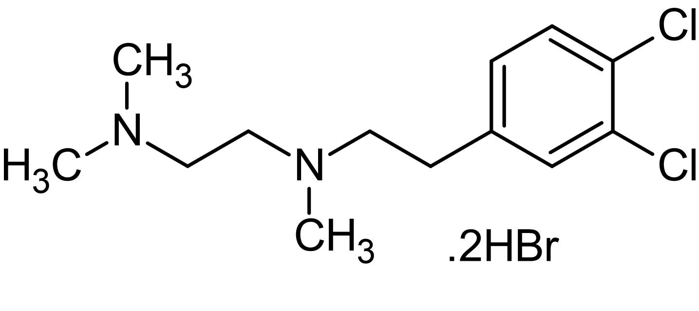 Chemical Structure - BD 1047 dihydrobromide, sigma1 receptor antagonist (ab144560)