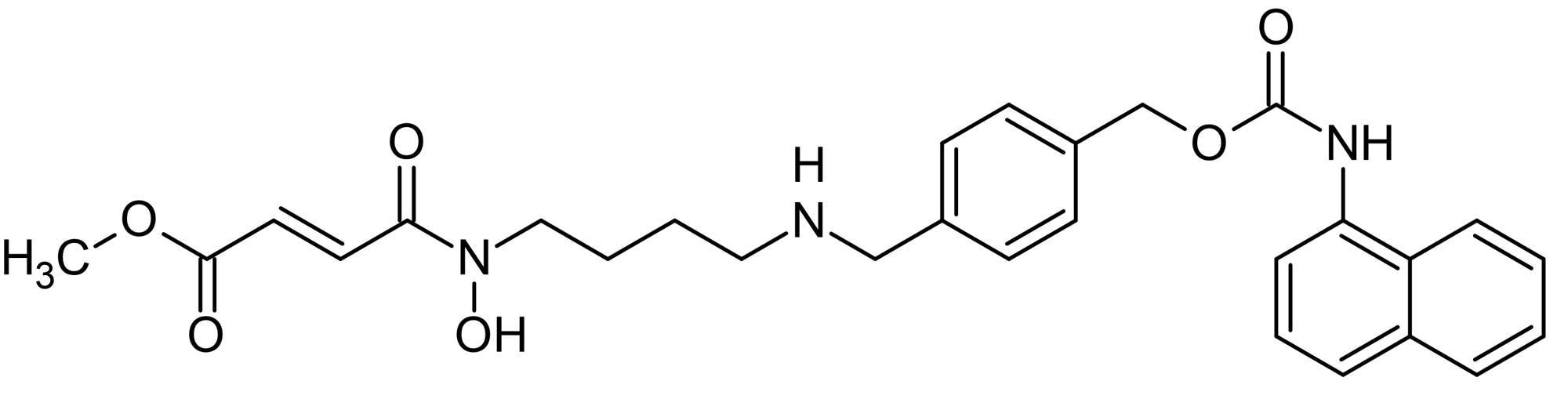 Chemical Structure - Methylstat, jumonji C domain-containing histone demethylase inhibitor (ab144566)