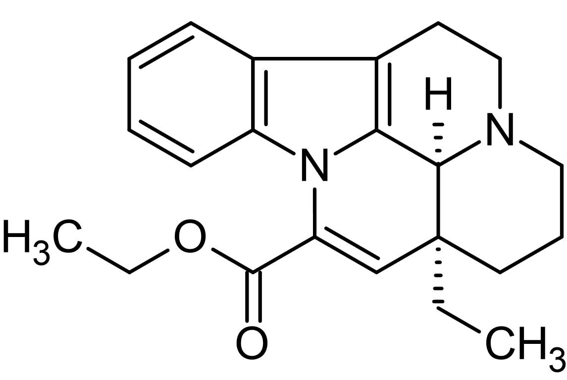 Chemical Structure - Vinpocetine, PDE1 inhibitor (ab144615)