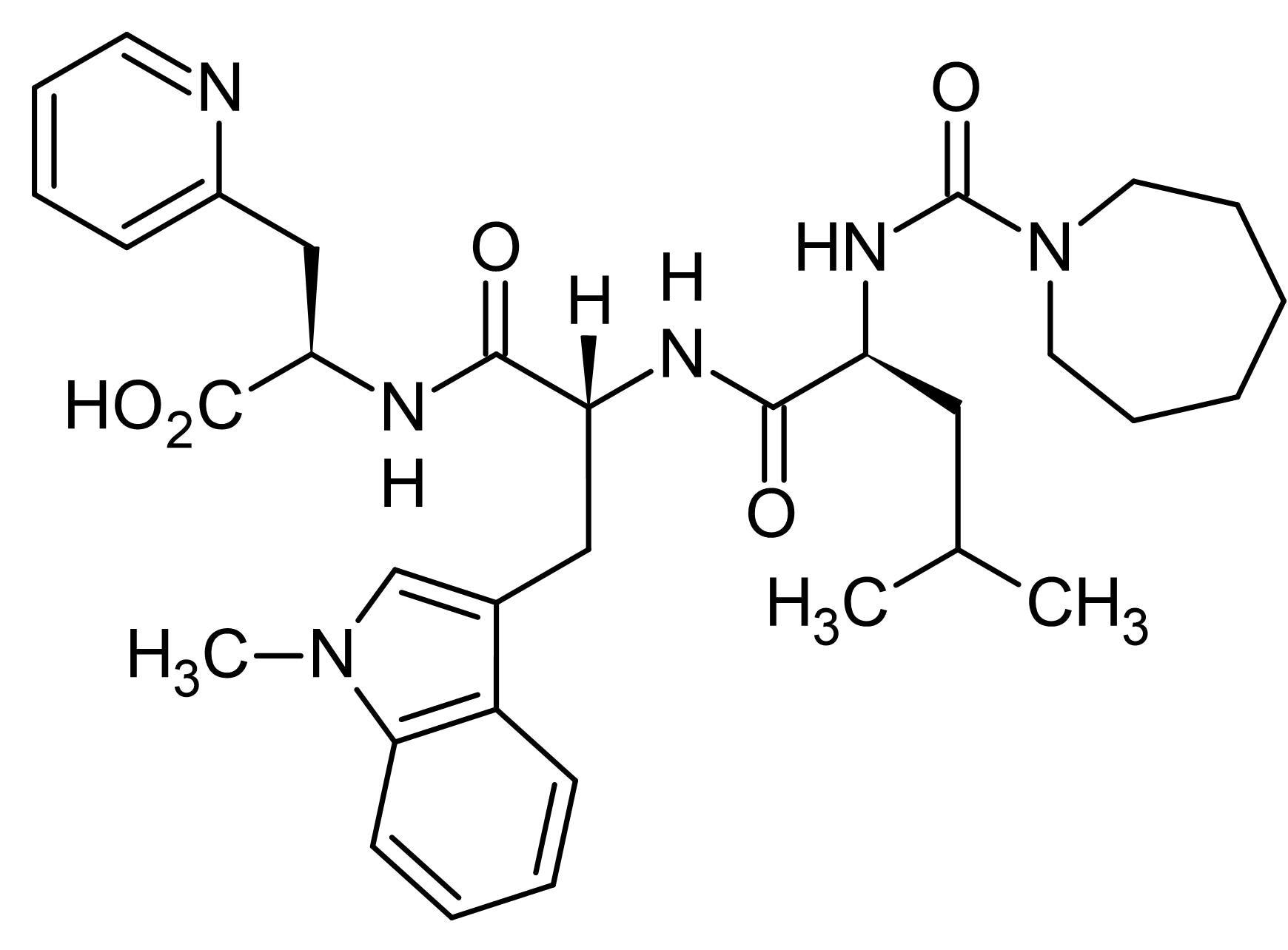 Chemical Structure - FR 139317, ET<sub>A</sub> receptor antagonist (ab144636)