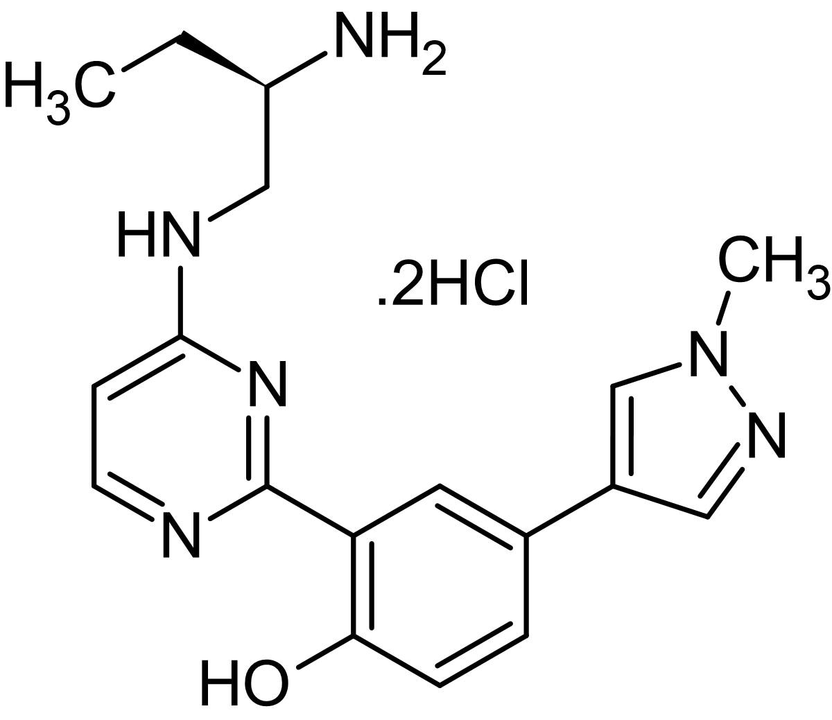 Chemical Structure - CRT0066101, protein kinase D inhibitor (ab144637)