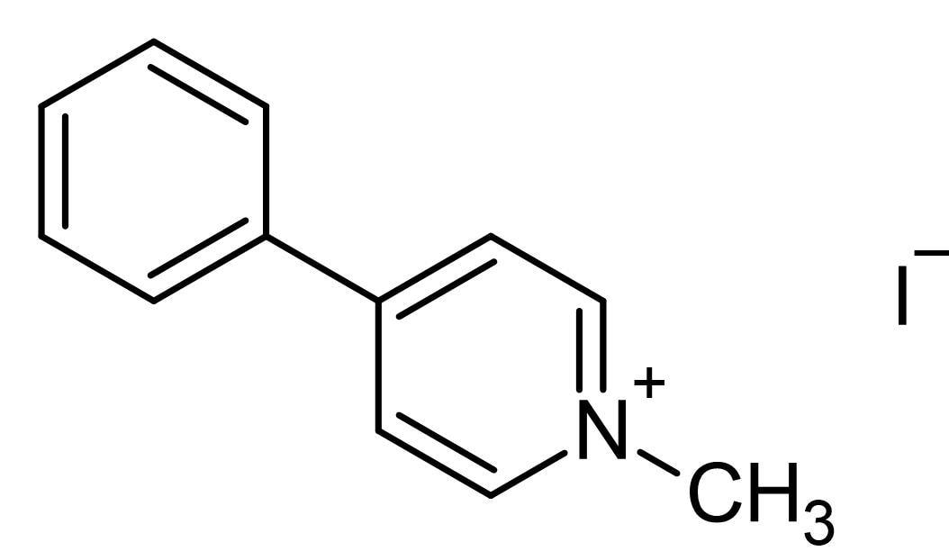 Chemical Structure - N-Methyl-4-phenylpyridinium Iodide (MPP+), Dopaminergic selective neurotoxin (ab144783)