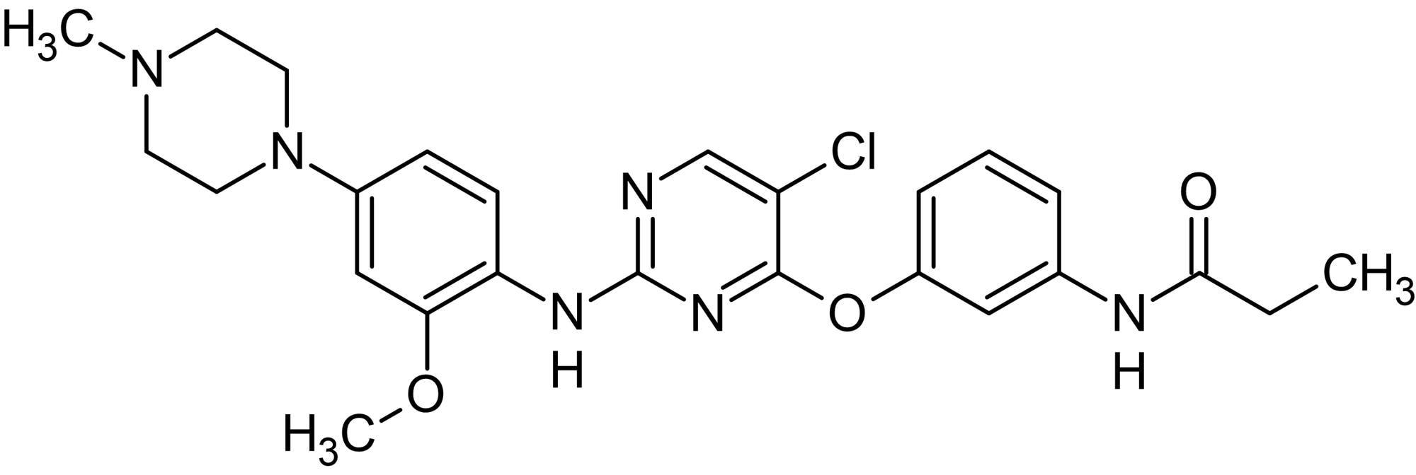 Chemical Structure - WZ 4003, NUAK kinase inhibitor (ab144820)