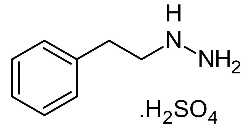 Chemical Structure - Phenelzine sulfate, MAO inhibitor (ab144825)
