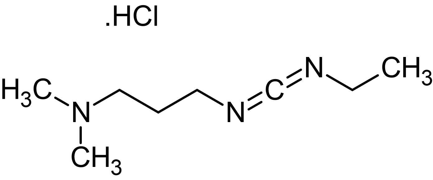 Chemical Structure - N-Ethyl-N'-(3-dimethylaminopropyl)carbodiimide hydrochloride, condensing reagent (ab144979)