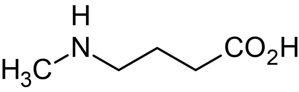 Chemical Structure - N-Methyl-4-aminobutyric acid, L-Carnitine beta-oxidation inhibitor (ab145016)