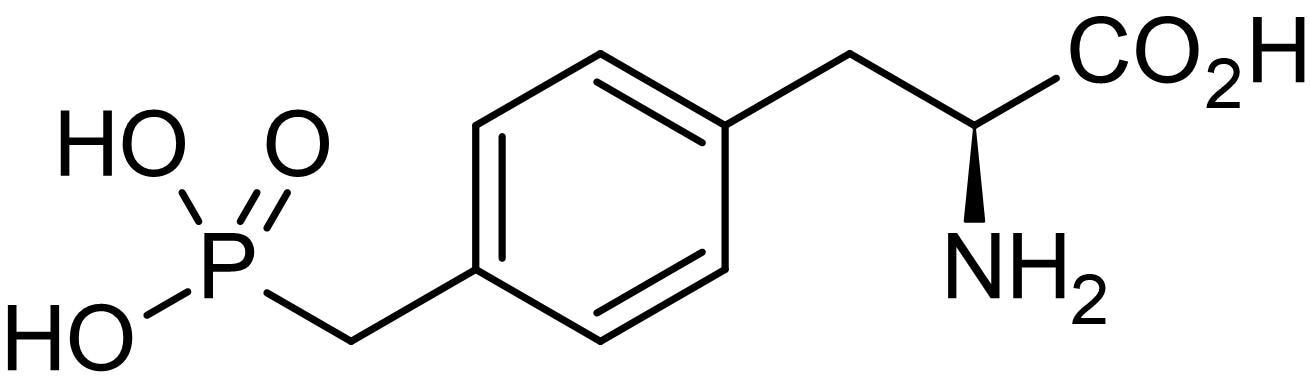 Chemical Structure - O-Phospho-L-tyrosine, Tyrosine-phosphorylation reagent (ab145033)