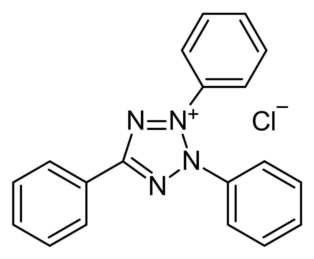 Chemical Structure - 2,3,5-Triphenyl-2<em>H</em>-tetrazolium chloride (ab145043)