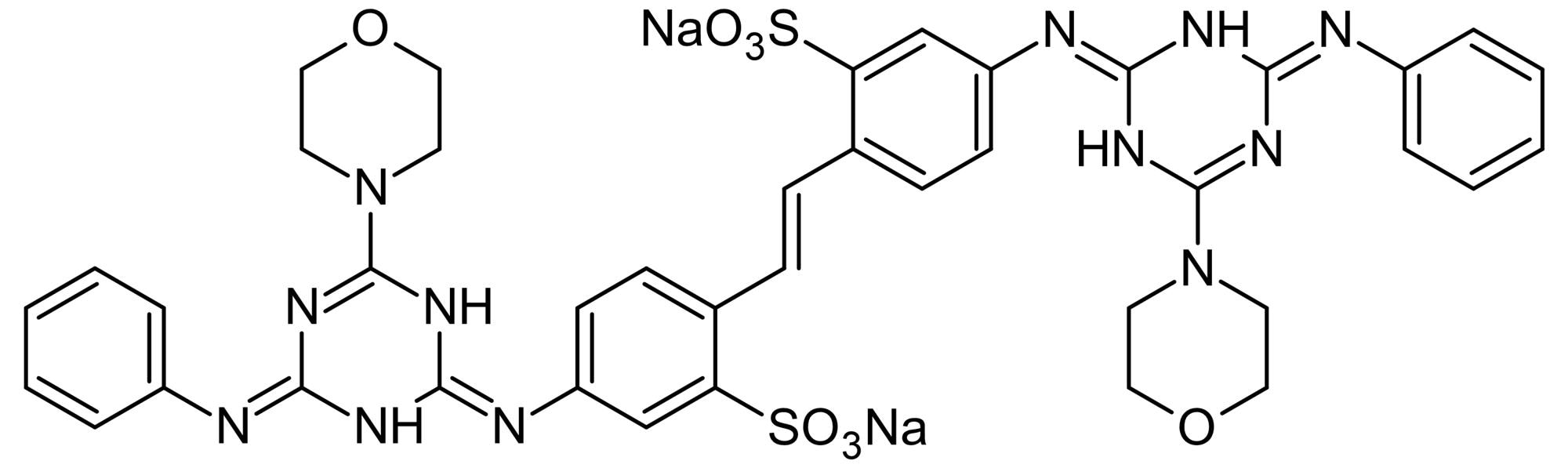 Chemical Structure - Fluorescent brightener 71, insecticides activity enhancer (ab145104)