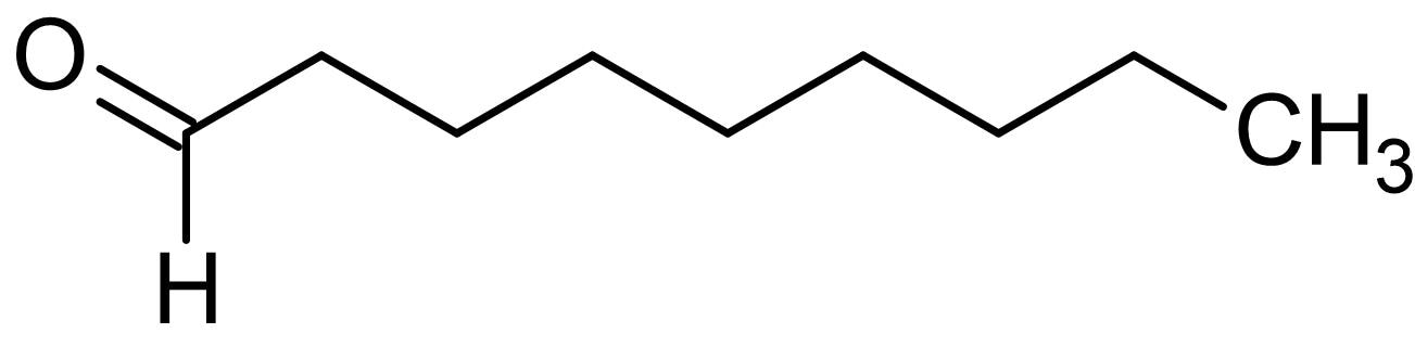 Chemical Structure - Nonanal, component of essential oils (ab145120)