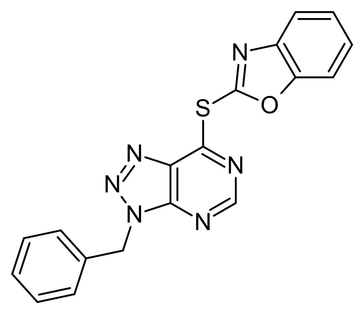 Chemical Structure - VAS 2870, NADPH oxidase inhibitor (ab145209)