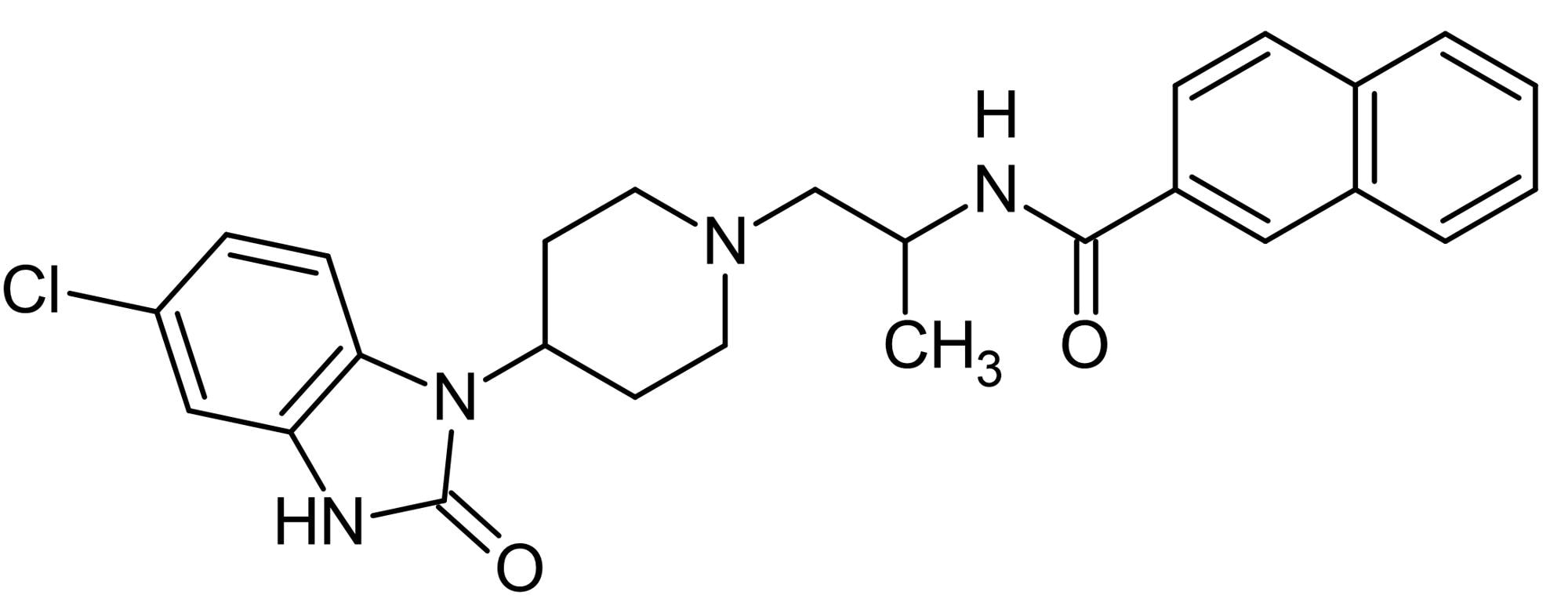 Chemical Structure - VU0155069, PLD1 inhibitor (ab145225)