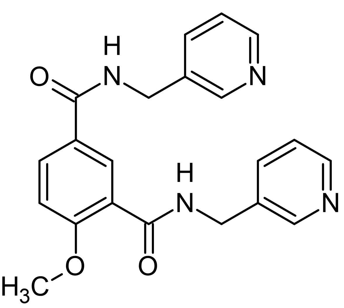Chemical Structure - Picotamide, Thromboxane A<sub>2</sub> antagonist and TXA<sub>2</sub> synthase inhibitor (ab145239)