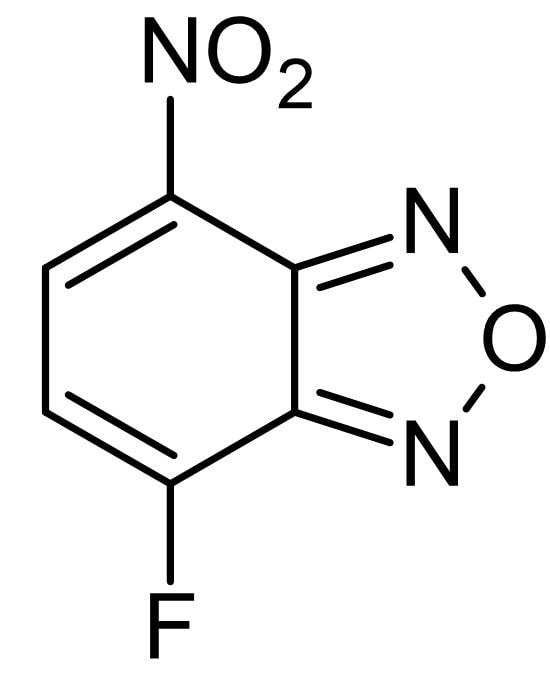 Chemical Structure - NBD-F, Pro-fluorescent reagent (ab145284)