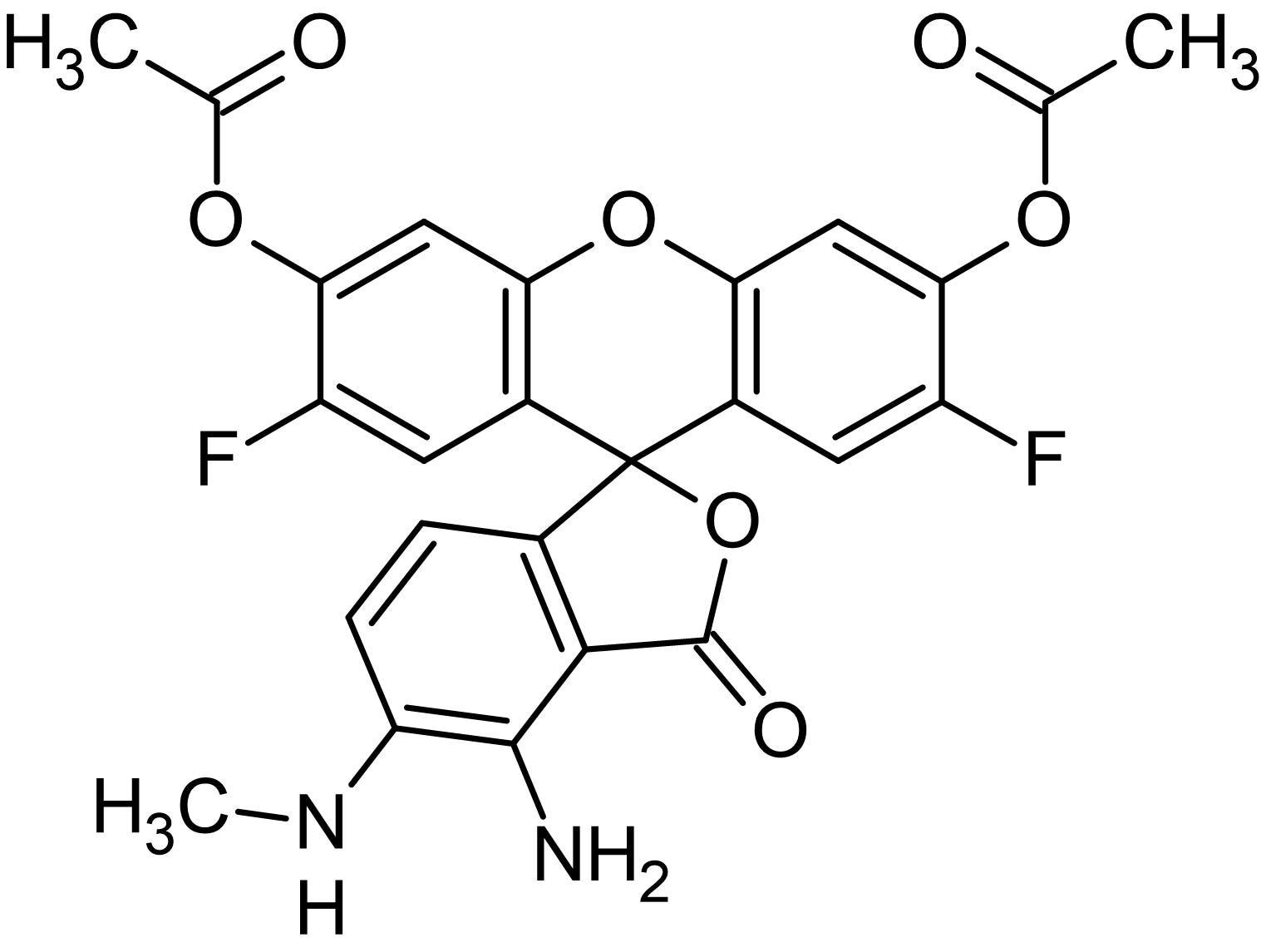 Chemical Structure - DAF-FM DA, Nitric oxide quantification reagent (ab145295)