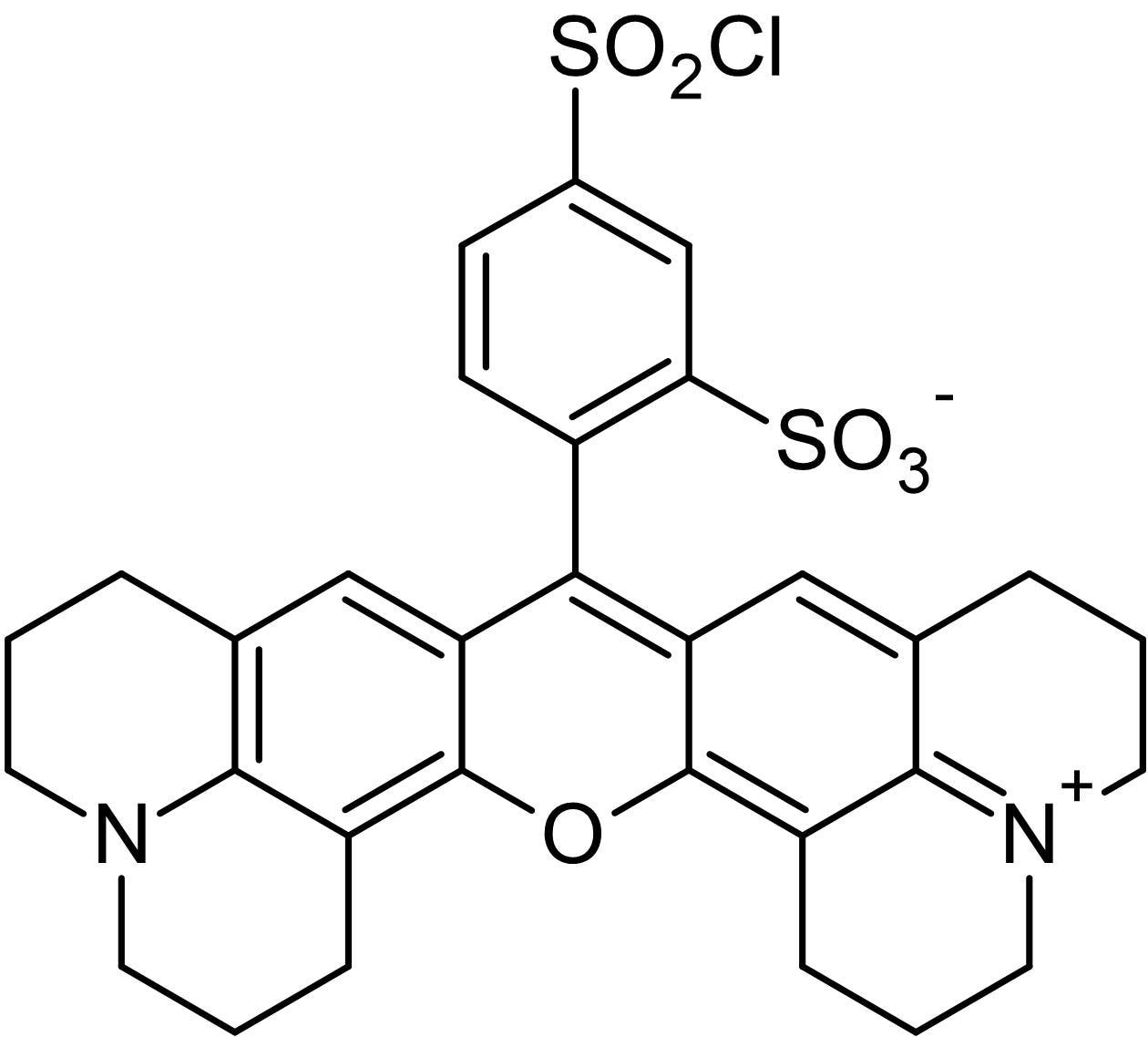 Chemical Structure - Sulforhodamine 101 acid chloride, amine-reactive rhodamine dye (ab145302)
