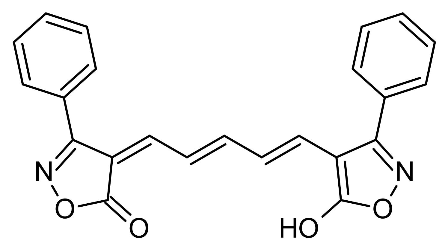 Chemical Structure - Oxonol V, Fluorescent membrane indicator (ab145384)