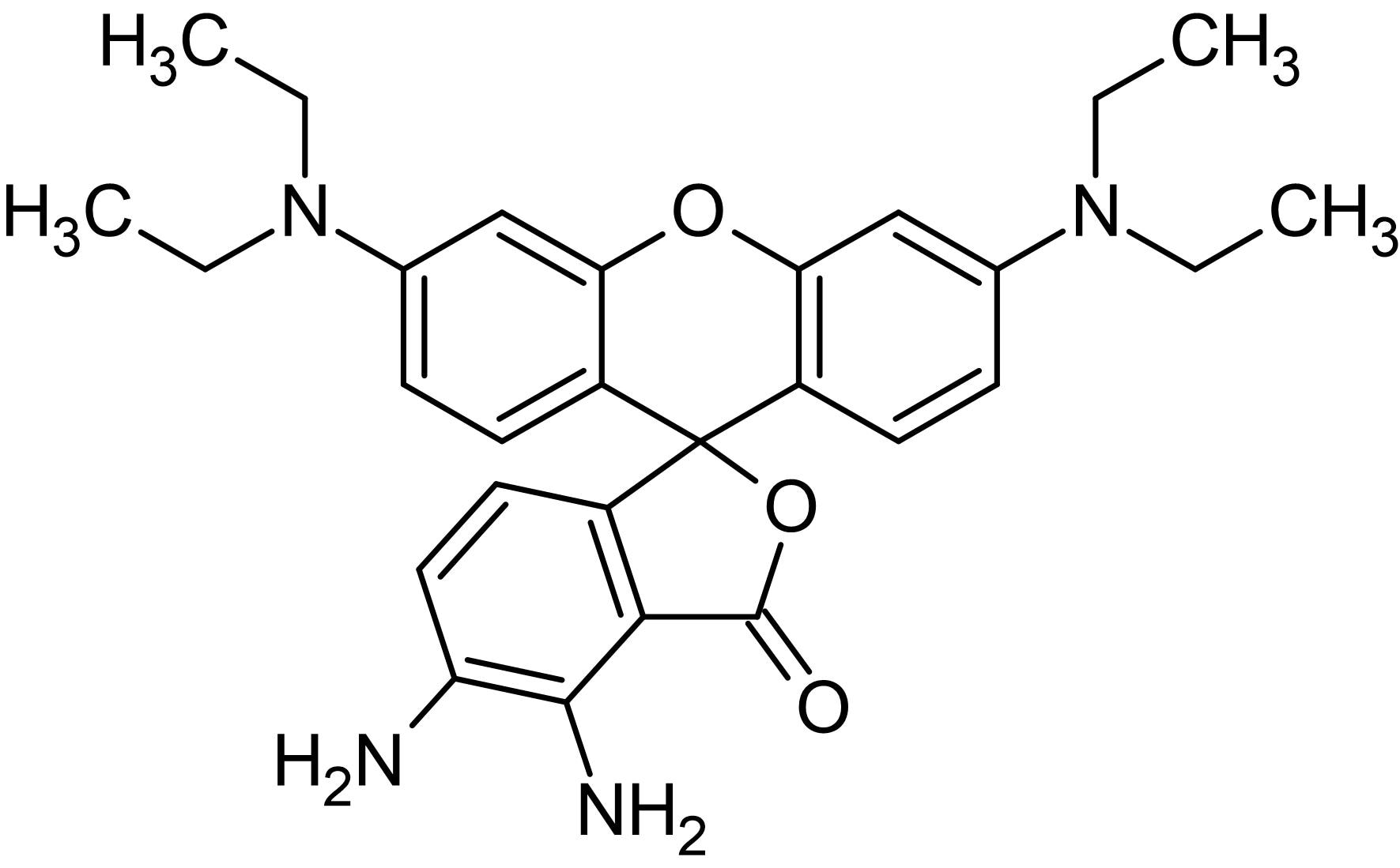 Chemical Structure - DAR-1, Fluorescent NO probe (ab145388)