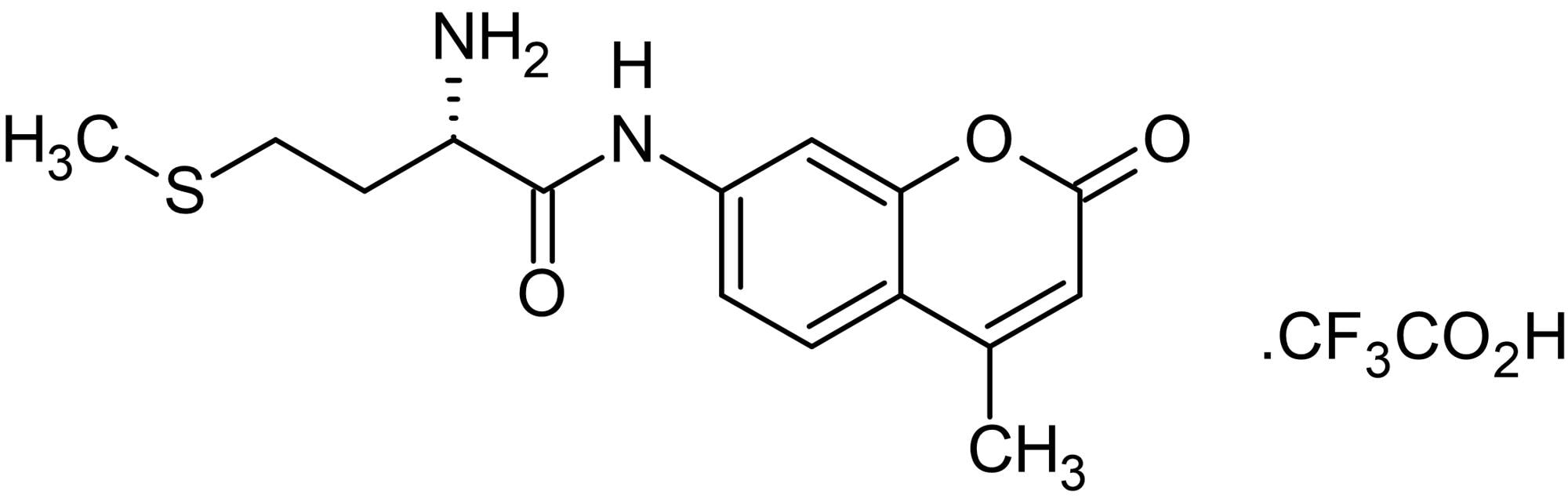 Chemical Structure - H-Met-AMC, Calpain substrate (ab145498)