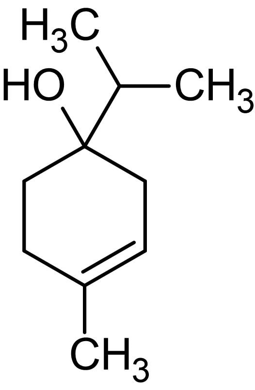 Chemical Structure - Terpinen-4-ol (4-Carvomenthenol), Anti-inflammatory and antimicrobial agent (ab145573)