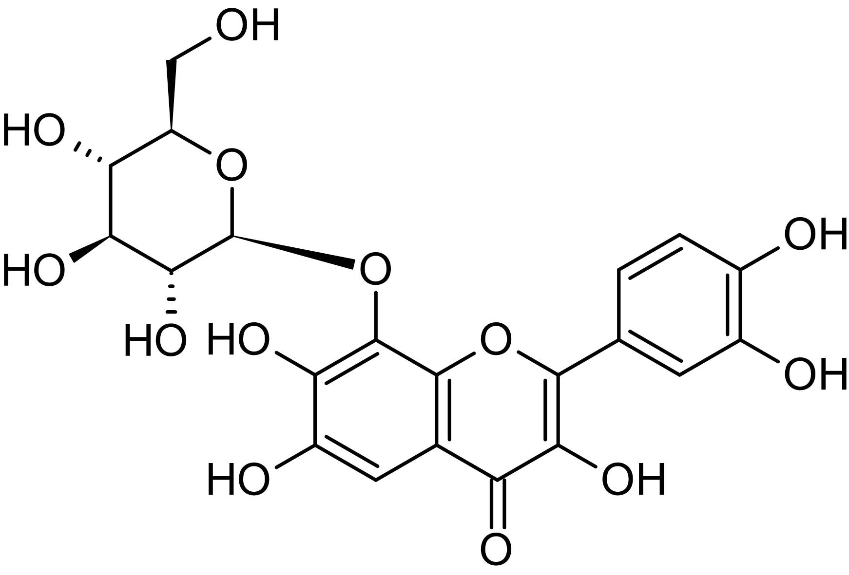 Chemical Structure - Gossypin, Chk1/Cdc25C activator (ab145623)