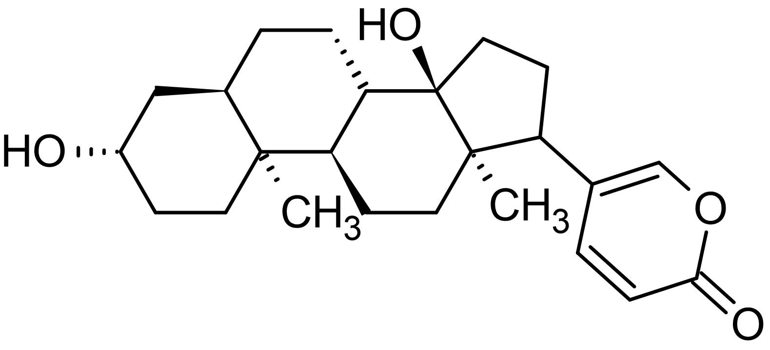 Chemical Structure - Bufalin, Na<sup>+</sup>/K<sup>+</sup>-ATPase inhibitor (ab145636)
