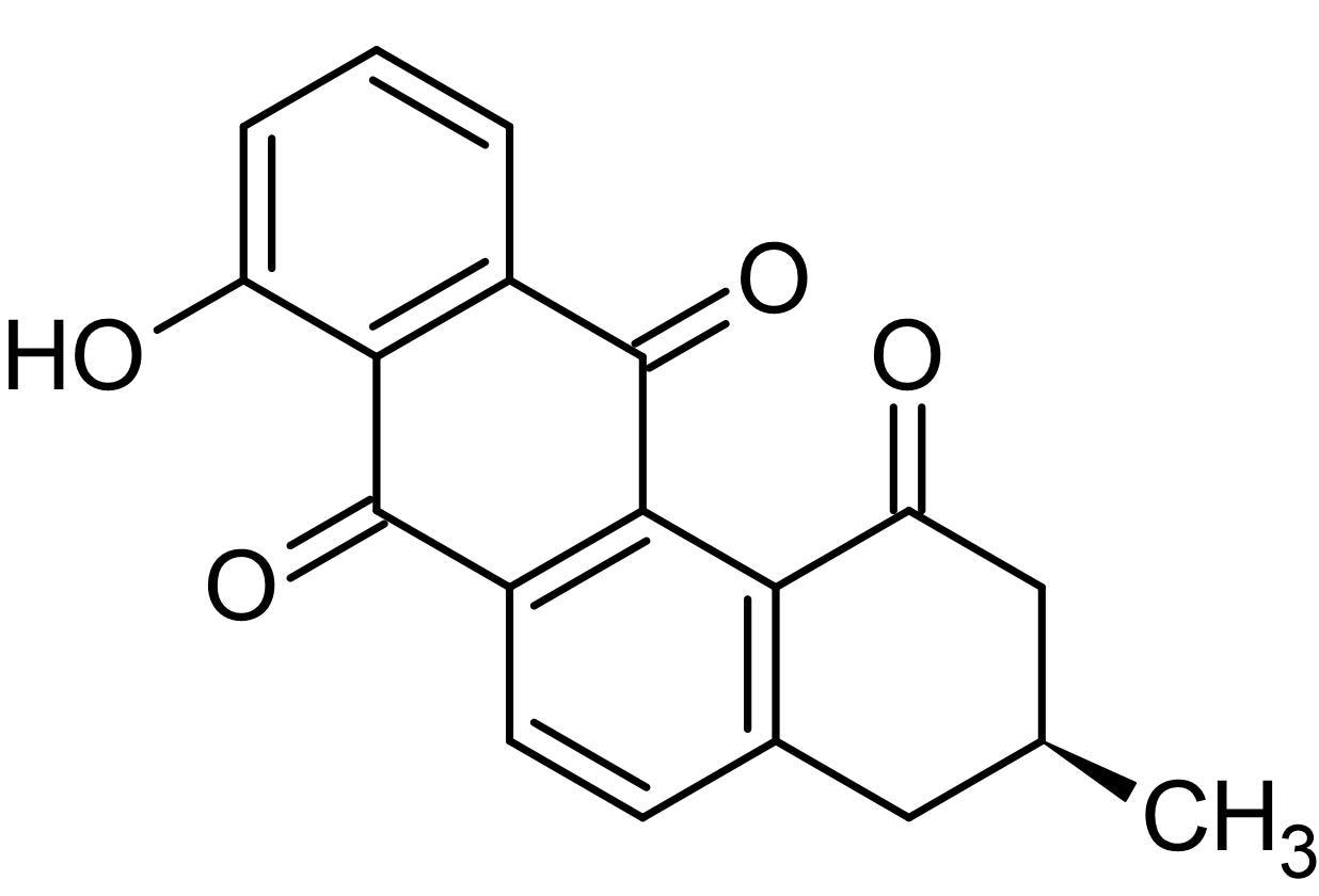 Chemical Structure - STA-21 (Ochromycinone), STAT3 inhibitor (ab145648)