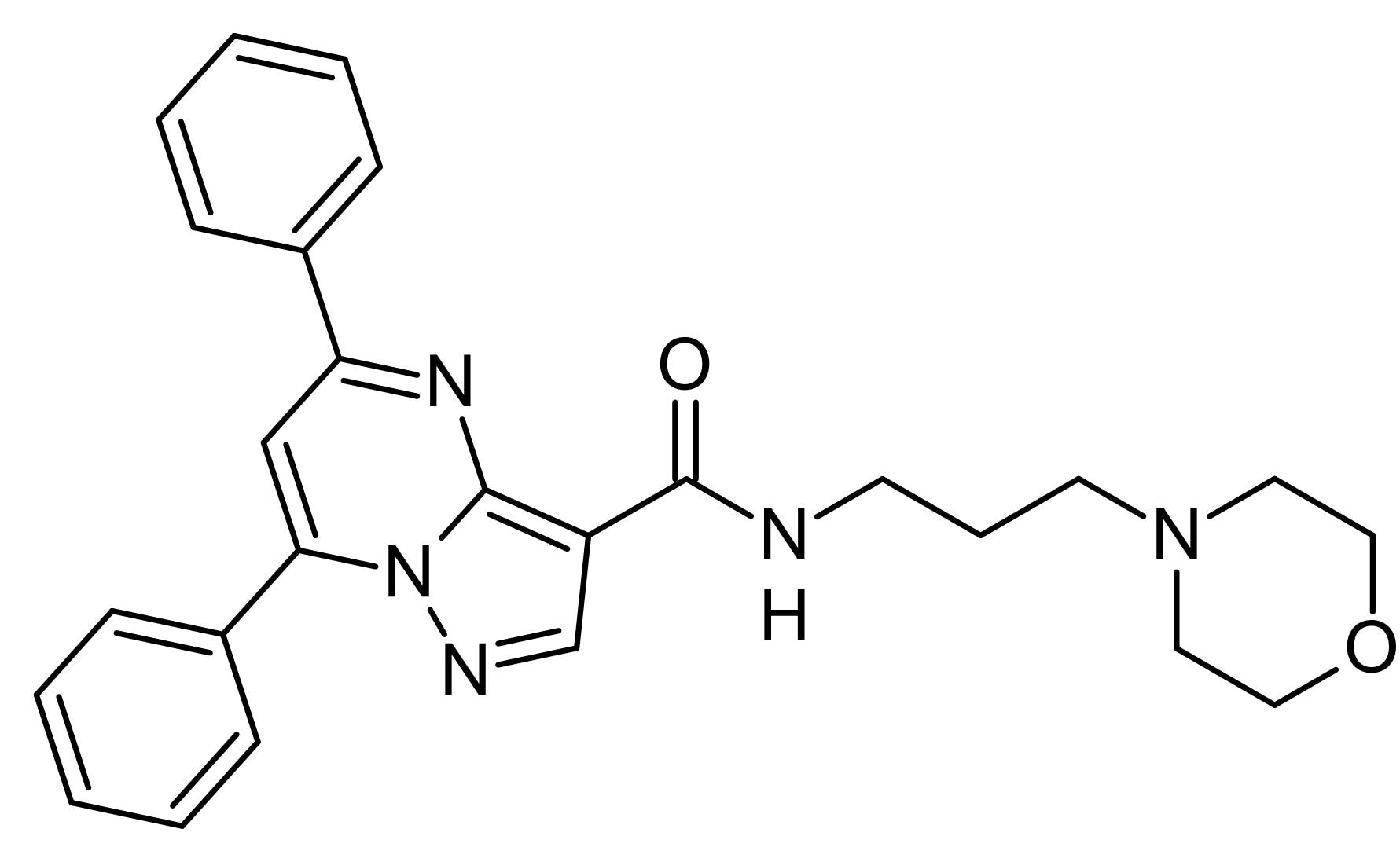 Chemical Structure - Reversan, MRP1 and P-glycoprotein inhibitor (ab145869)