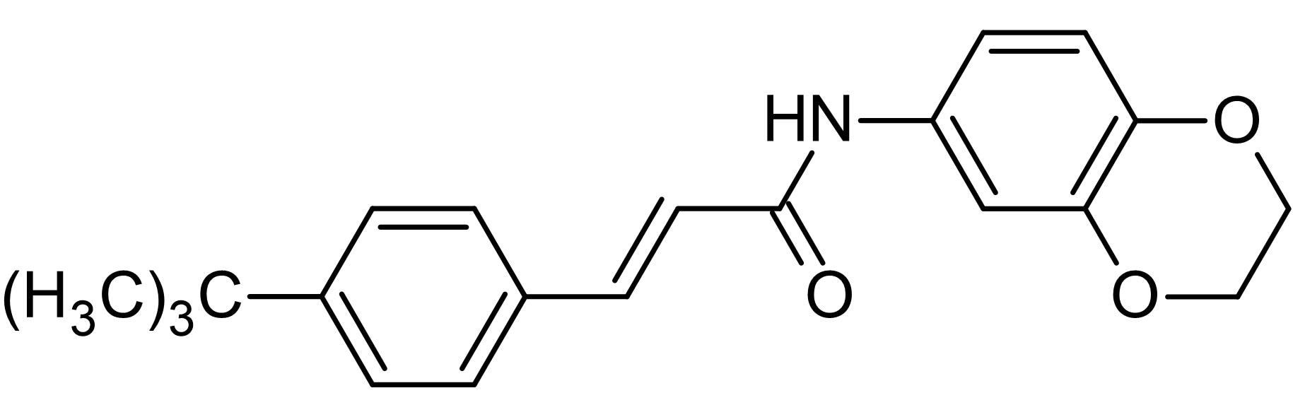 Chemical Structure - AMG 9810, TRPV1 receptor antagonist (ab145874)