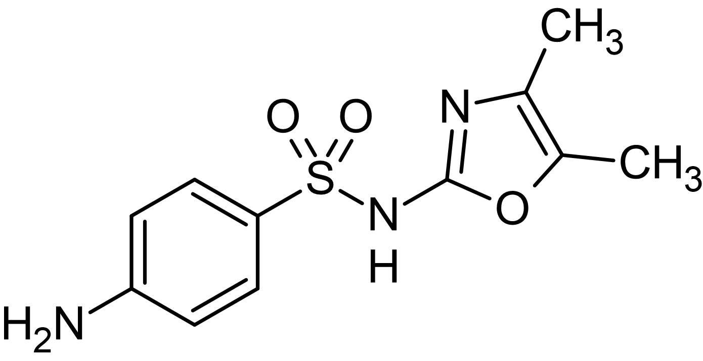 Chemical Structure - Sulfamoxole, Antibiotic (ab145960)