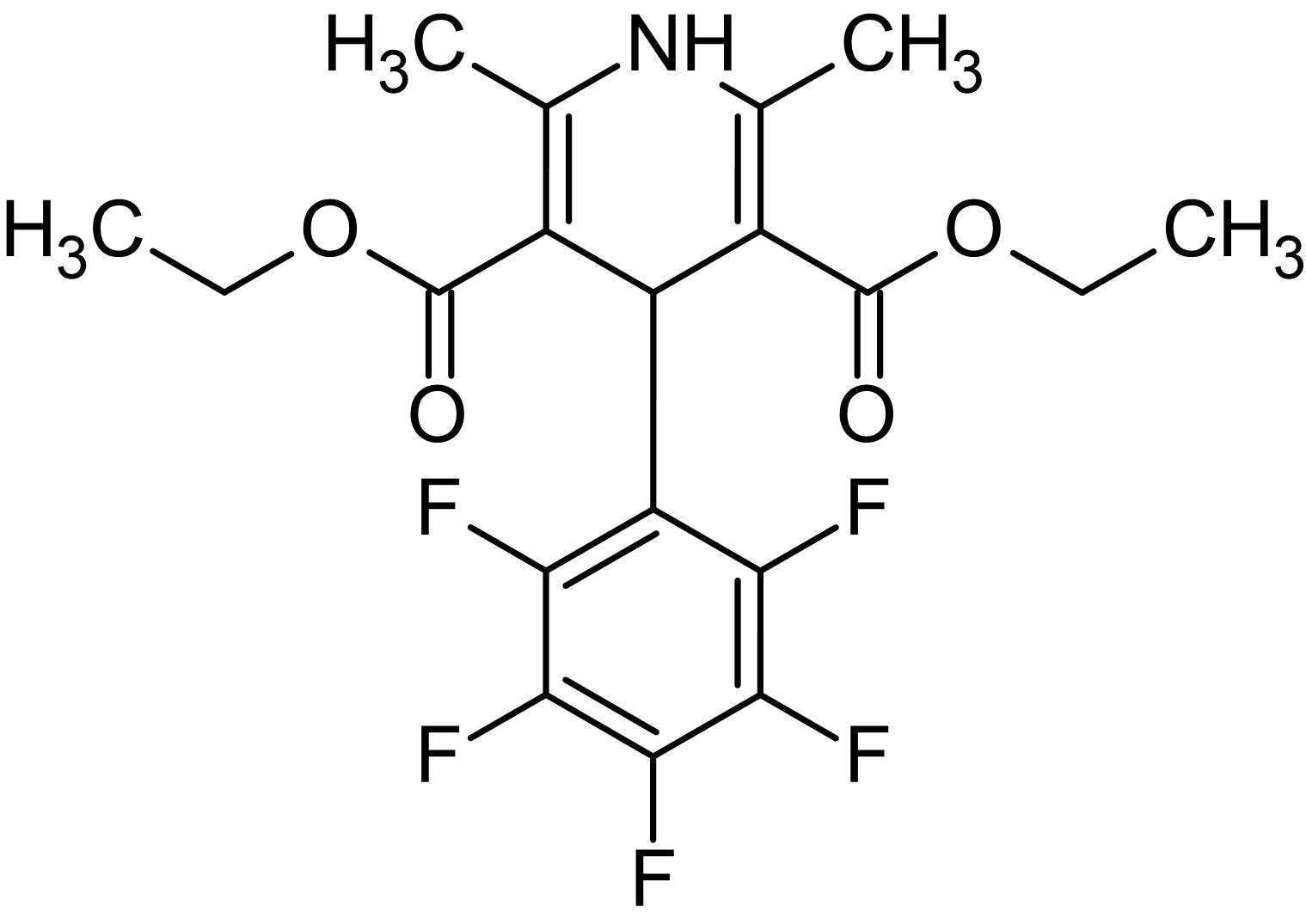 Chemical Structure - Nemadipine A, L-type calcium channel protein inhibitor (ab145991)