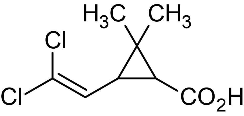 Chemical Structure - Permethric acid, hapten and immunogen preparation reagent (ab146074)