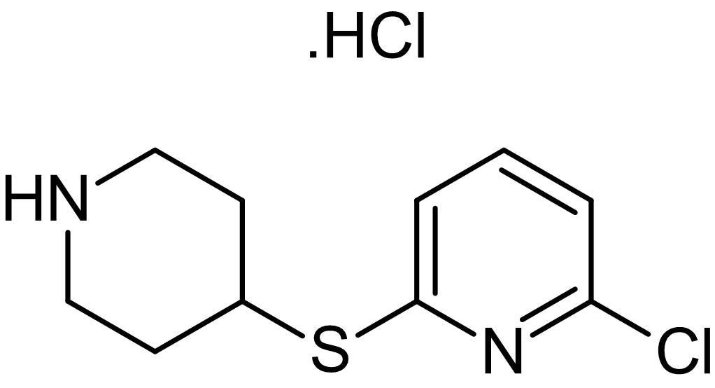 Chemical Structure - Anpirtoline hydrochloride, 5-HT<sub>1B</sub> receptor agonist (ab146122)