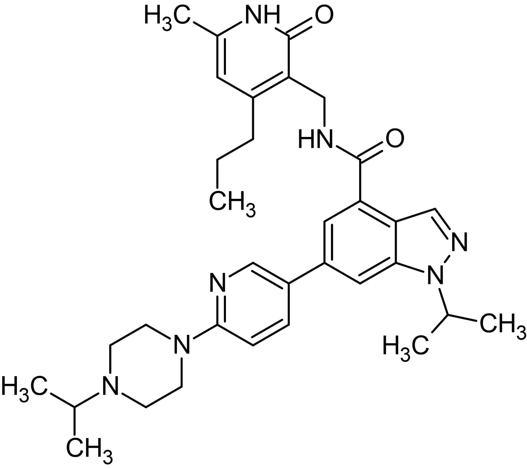 Chemical Structure - UNC1999, EZH2 methyltransferase inhibitor (ab146152)