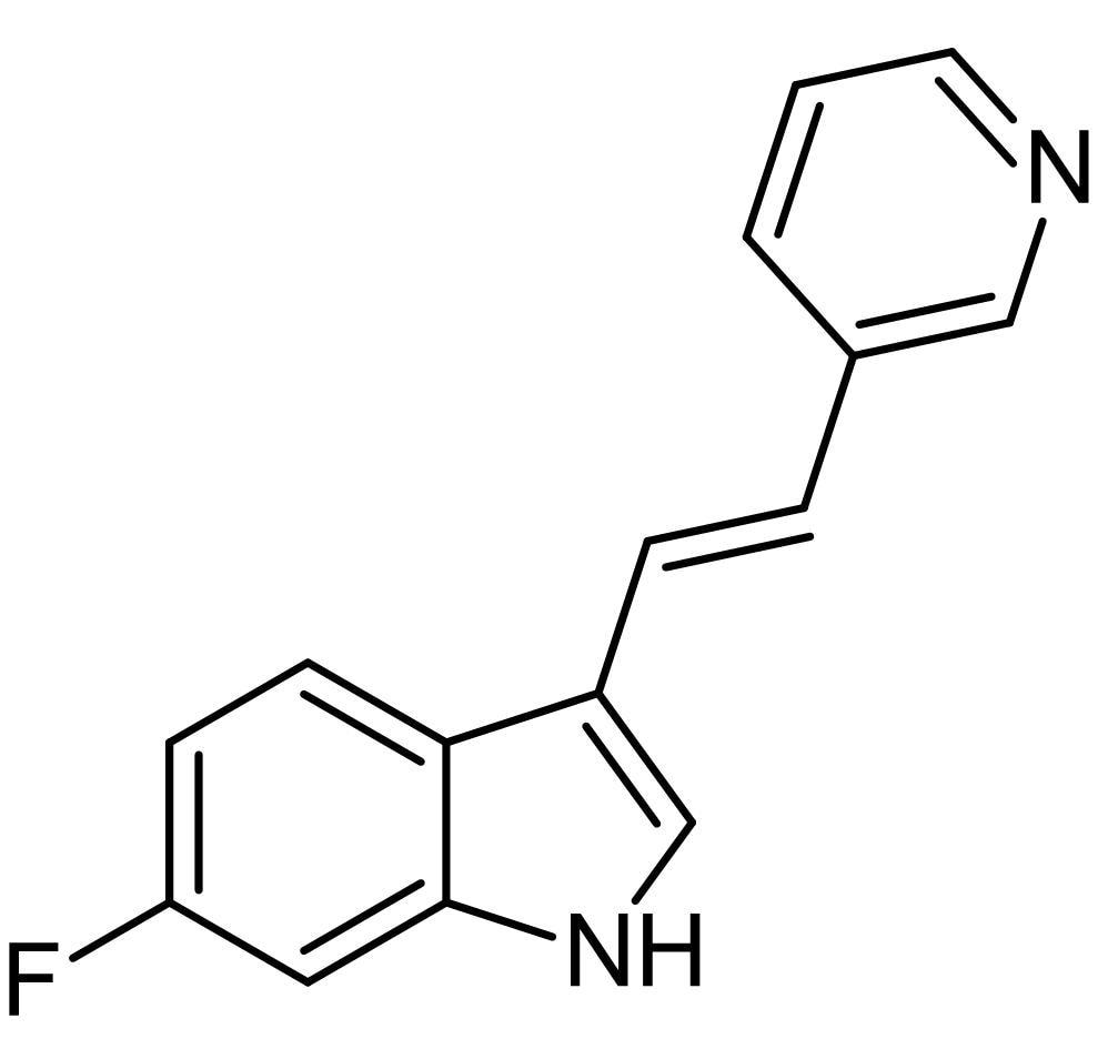 Chemical Structure - 680C91, tryptophan 2,3-dioxygenase inhibitor (ab146153)