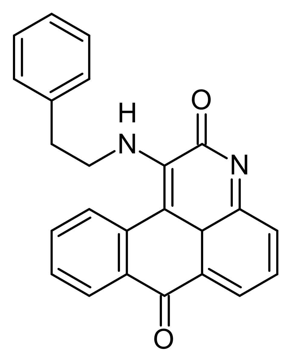 Chemical Structure - BRD-7389, p90 ribosomal S6 kinase RSK inhibitor (ab146161)