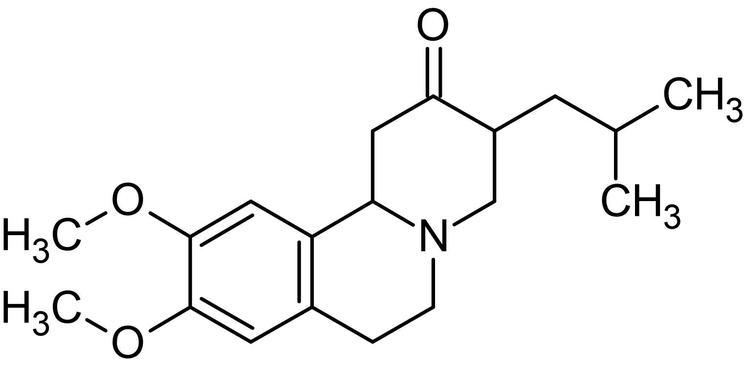 Chemical Structure - Tetrabenazine, VMAT2 inhibitor (ab146166)