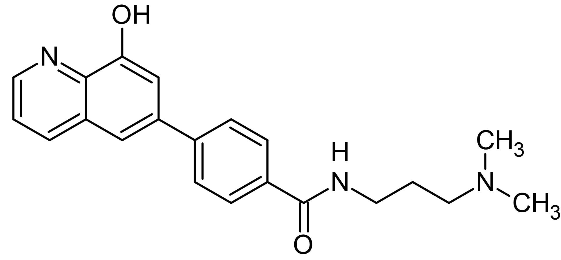 Chemical Structure - ML-324, JMJD2 inhibitor (ab146175)