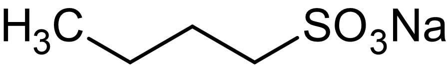 Chemical Structure - 1-Butanesulfonic acid sodium salt, Anionic surfactant (ab146210)