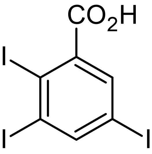 Chemical Structure - 2,3,5-Triiodobenzoic acid, Auxin transport inhibitor (ab146229)
