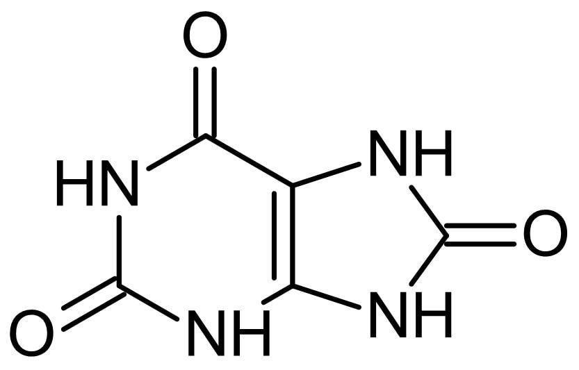 Chemical Structure - Uric acid, Xanthine oxidase product (ab146243)