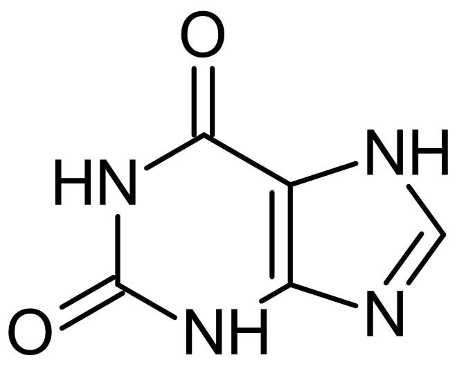 Chemical Structure - Xanthine, Purine base (ab146244)