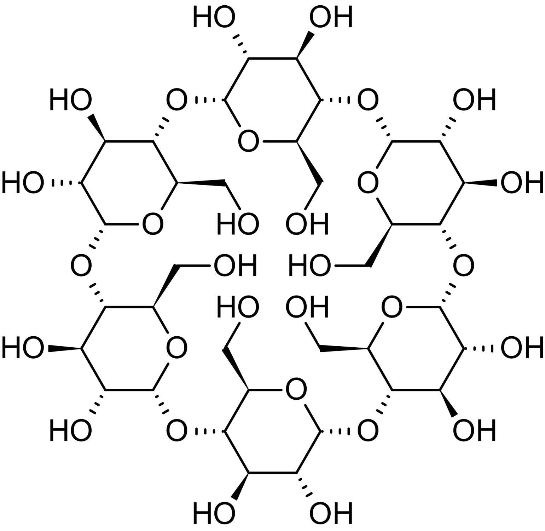Chemical Structure - alpha-Cyclodextrin, non-reducing cyclic saccharide (ab146272)