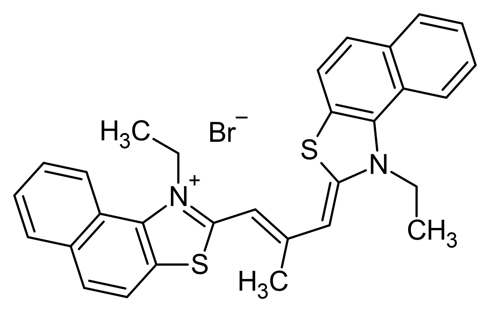 Chemical Structure - Stains-All, cationic carbocyanine dye (ab146278)