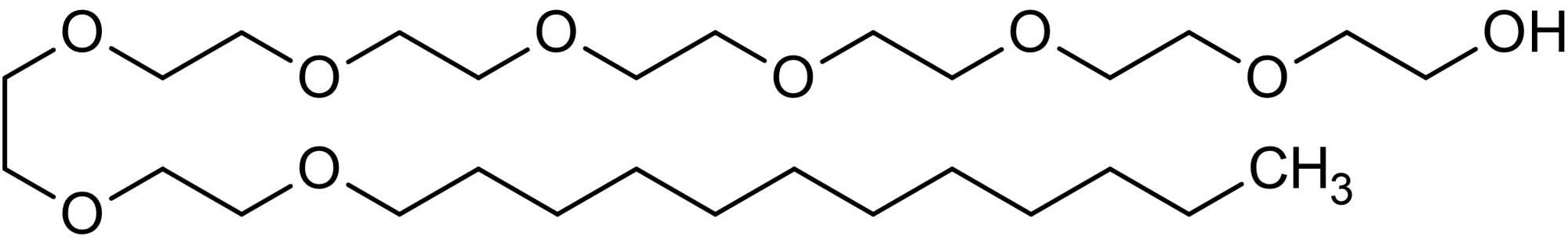 Chemical Structure - C12 E8 solution, Non-ionic detergent (ab146285)